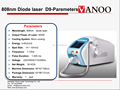 Best seller Portable 808nm Diode Laser Hair Removal Device