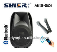 "SHIER AK12-202 Professional DVD USB subwoofer 12"" audio pro speakers"