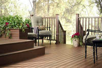 The first and the best choice for outdoor courtyard practices which is Techwood WPC outdoor flooring