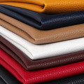 PU Leather with Genuine Leather