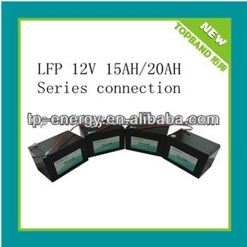 Hot Selling Cheap 12V Battery Pack 4pcs in Series(48V20Ah) for Electric Scooter