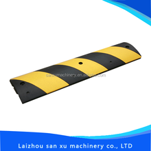 Alibaba hotsale traffic rubber safety speed humps speed bumps with high quality