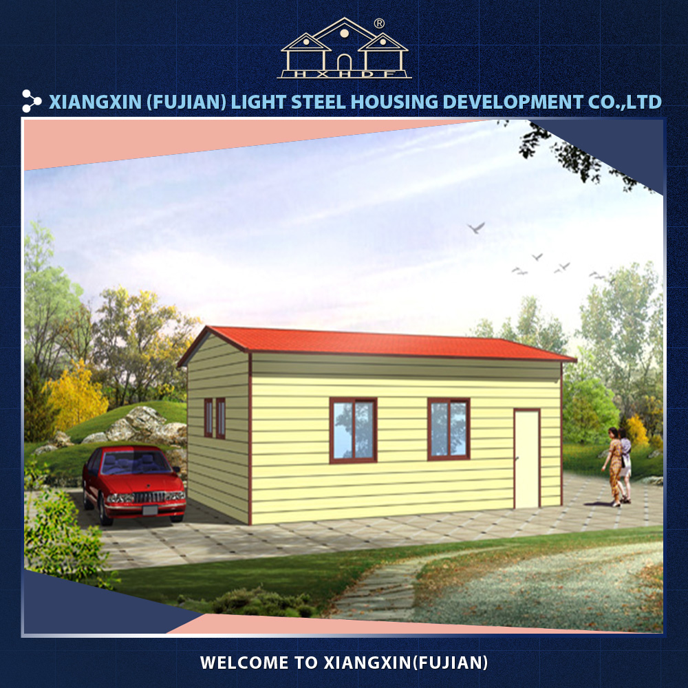Low cost mobile homes in construction site