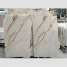 High polished book matched tiles calcutta gold marble