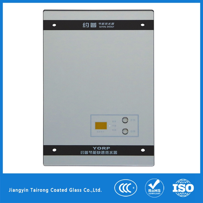 2017 Hot Sale Gas/Electric Water Heater Front Glass Panel
