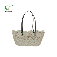 china manufacturer lace fabric bags handbags