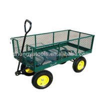 Wagon folding Beach Steel Mesh Garden Tool Cart