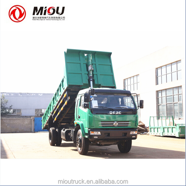 China manufacturers mini truck dump 160hp cheap dumper price