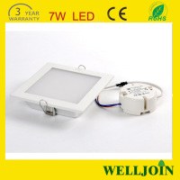 7w Square Led Downlight Retrofit, Surface Mounted Square Recessed Led Downlight