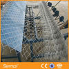 hot sale cheap plastic coated chain link fence (factory)