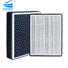 HF1047A 99.99% Replaceable Glassfiber Mini- Pleated Separator 0.3 Micron F8 H10 H11 H12 H13 H14 U17 Ahu Air Hepa Filter