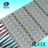 Shenzhen factory hot sale new products 2016 highlight 36W/meter SMD 5630 72 leds/meter 12mm width rigid LED strip