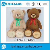 OEM certification stuffed 120cm large giant big teddy bear plush teddy bear toys