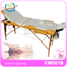 Best Portable SPA and Beauty Furniture Wooden Leg Massage Table