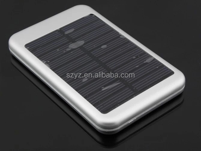 High quality portable solar power bank for iphone For Mobile phone, Tablet, Notebook