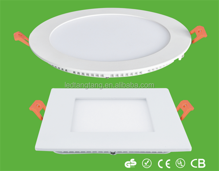 Factory Price Aluminum Ceiling Lighting LED Panel Lamp SMD2835 Ultrathin Slim 12W Round