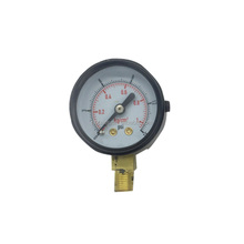 Bourdon Tubes Mechanical Air Pressure Gauge for Gaseous and Liquid Media Manometer