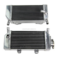 High quality sale aluminium parts coolant radiator replacement FOR Honda CRF250 CRF250X CRF250R 2004-2009