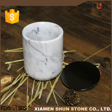 Various styles homewares decor,Real marble candle holder with soy wax, Nature marble jars