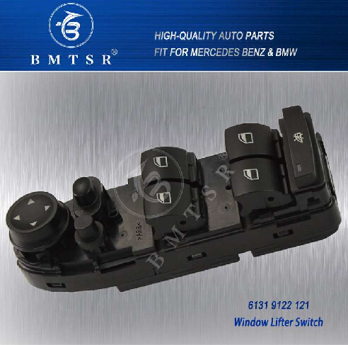 61319122121 E70 E71 X5 X6 DRIVERS SIDE MAIN WINDOW SWITCH MASTER SWITCH