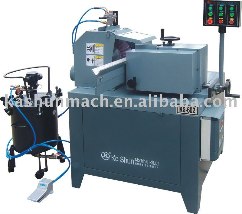 KS-602B Automatic round tube mirror polishing machine
