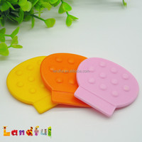 BPA Free Mixed Color Round Shape Baby Toys Small Plastic Teething Relief