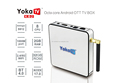 New model KB2 Amlogic S912 Octa Core Android 6.0 Marshmallow Smart TV Box 32 GB tv box