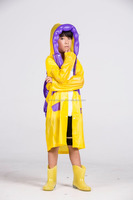 Disposable Poncho Kids Raincoat