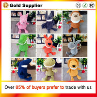 Hot 30CM Kawaii Small Teddy Bears Plush Toys Stuffed Animals Fluffy Bear Dolls Soft Kids Toys Random Necklace/Bow Children Gift