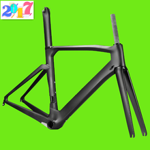 "Hot selling 700C Headtube 1-1/8""-1-1/4"" Compatible DI2 Carbon Road Bike/Bicycle Frame"