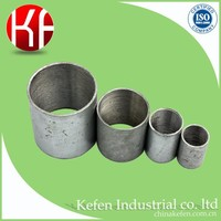 Cable management galvanized conduit fittings solid nipple joint