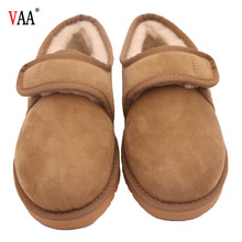 CF-154 Winter Factory Ankle Length Chestnut Color Winter Snow Men Moccasin