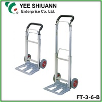 YEE SHIUANN 150mm rubber wheel Aluminum Folding portable trolley