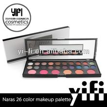 Manufacture price! Naras 26 Colors Palette Eyeshadow Palette make up for life professional