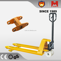 2500kg 3000kg hydraulic manual forklift trolley pallet on alibaba good sale made in china