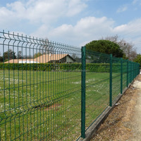 PVC Coating Welded Wire Fence Panels