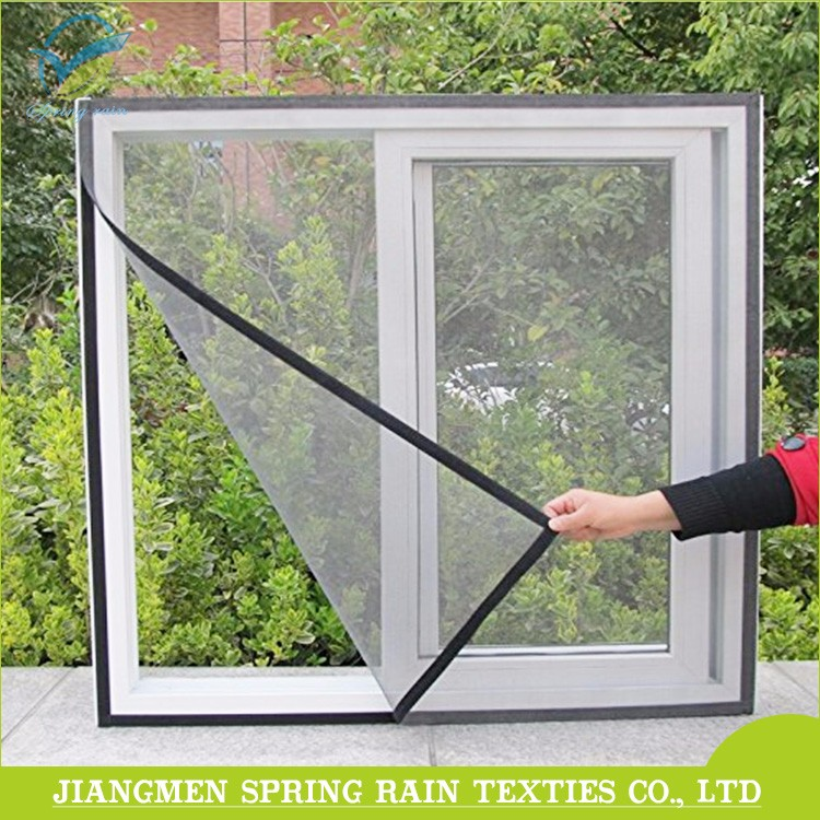 Removable insect screen / DIY self adhesive tape window mosquito net