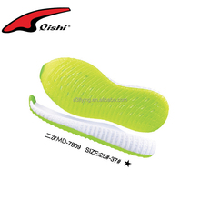 Jelly shoe sole translucent tpr sole soft for kids