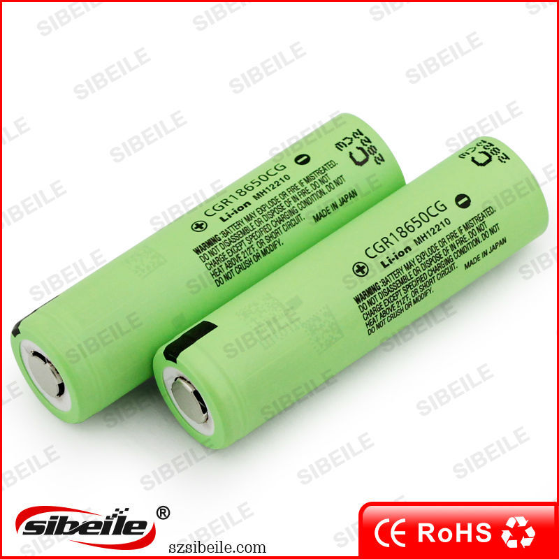 Genuine CGR18650CG 3.7v 18650 li ion battery 2250mah 10A discharging rate 18650cg CGR battery for vape