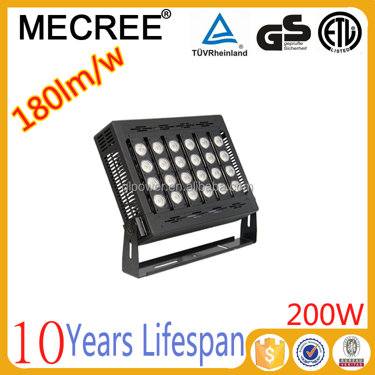 Factory Direct Sale High Performance LED Soccer Stadium Lighting 200W