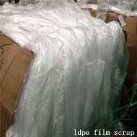 Wholesale price customsize recycled plastic lldpe film scrap