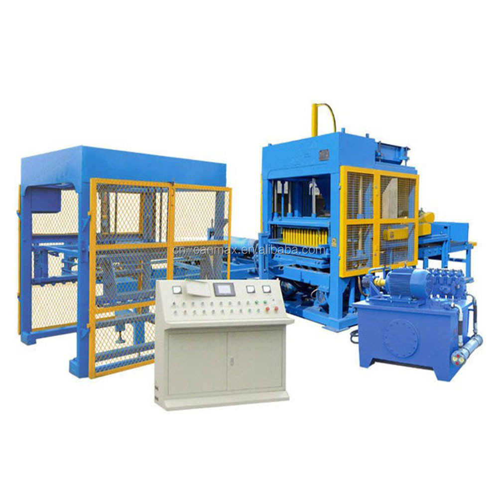 paving block making machine automatic cement hollow interlocking bricks machine