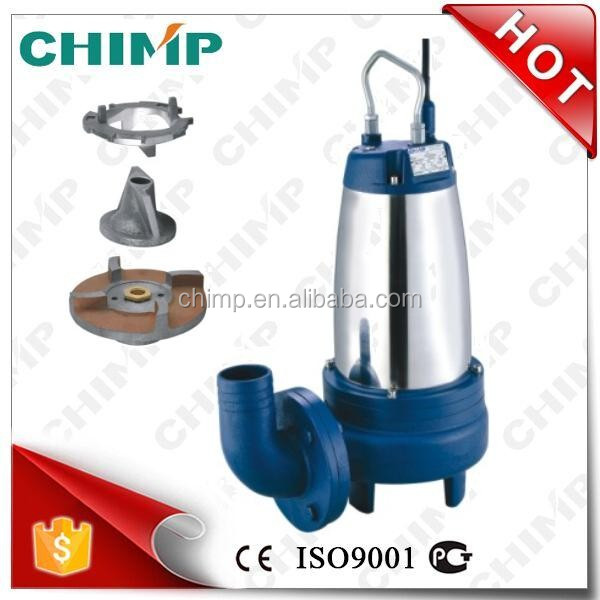 hot sale WQ(D)K SERIES 7.5HP Sewage Submersible Water Pump with Cutting Impeller