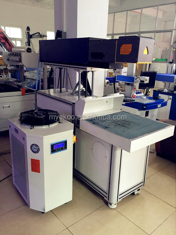 CO2 260w non-metallic machine 260W for buttons/craft gifts /jeans/plastic price