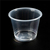 lucky pack food food packaging plastic cup/2oz 60ml mini plastic sauce cup with lid