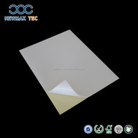 Best price high mirror coated glossy sticker paper