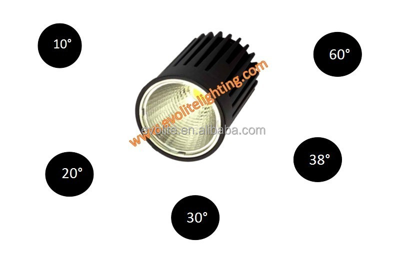 High Power LED Downlight COB Ceiling Light 3years Warranty