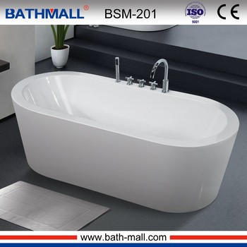 Popular design free standing bathtub one piece bathtub for for Free standing bathtubs for sale