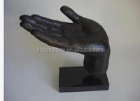 bronze open hand sculptures