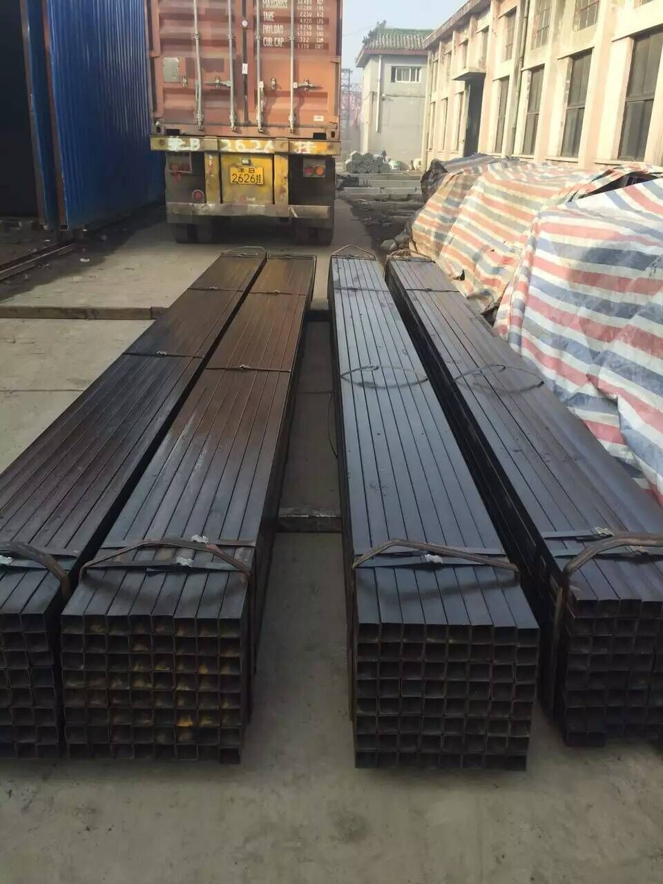 MS steel section manufacture hebei bazhou shengfang